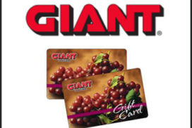 Giant Gift Card Fundraiser