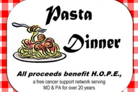 Pasta Dinner HOPE Fundraiser